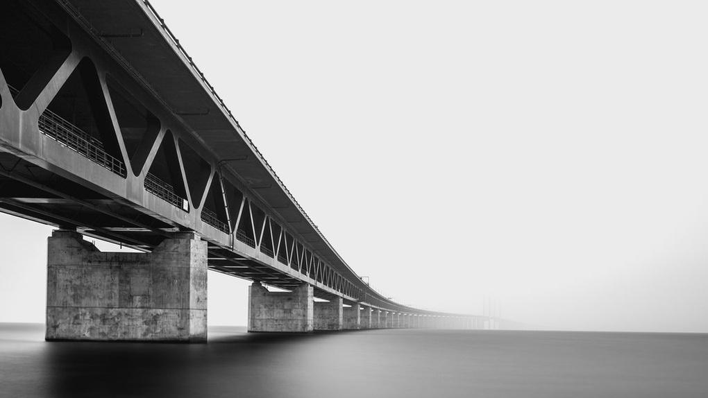 Øresund Bridge by Philip Slotte