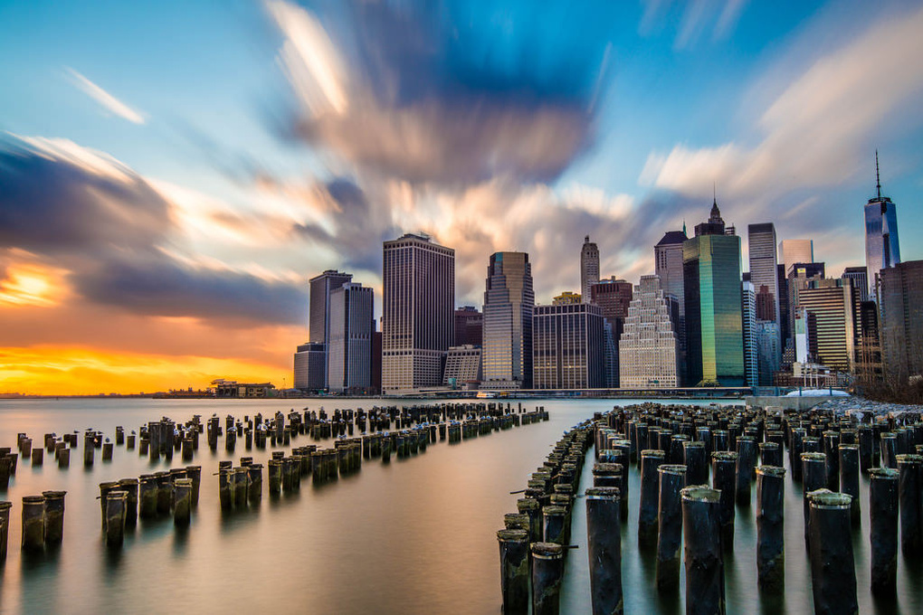 Lower Manhattan by Philip Slotte