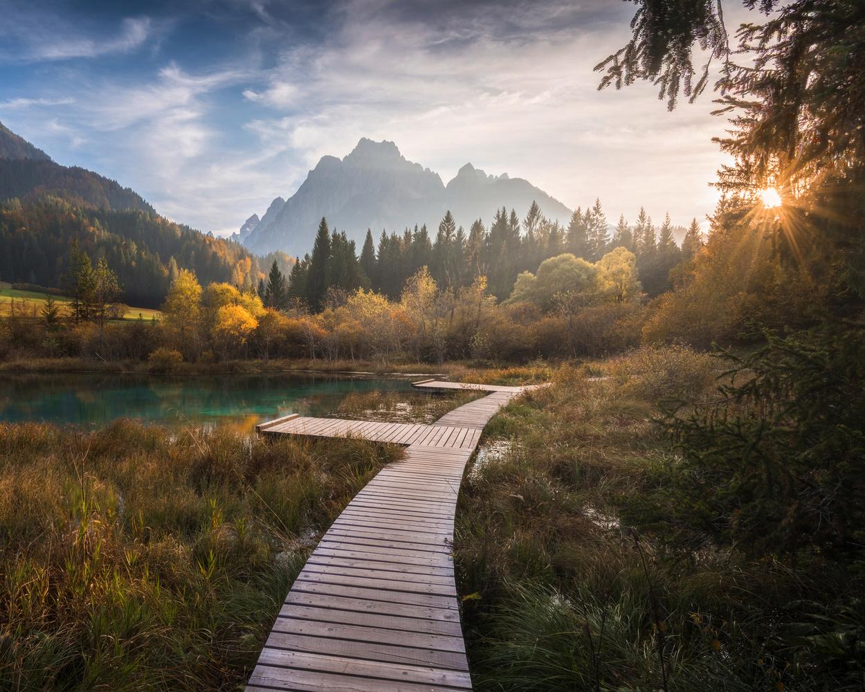 Lake Zelenci by Philip Slotte