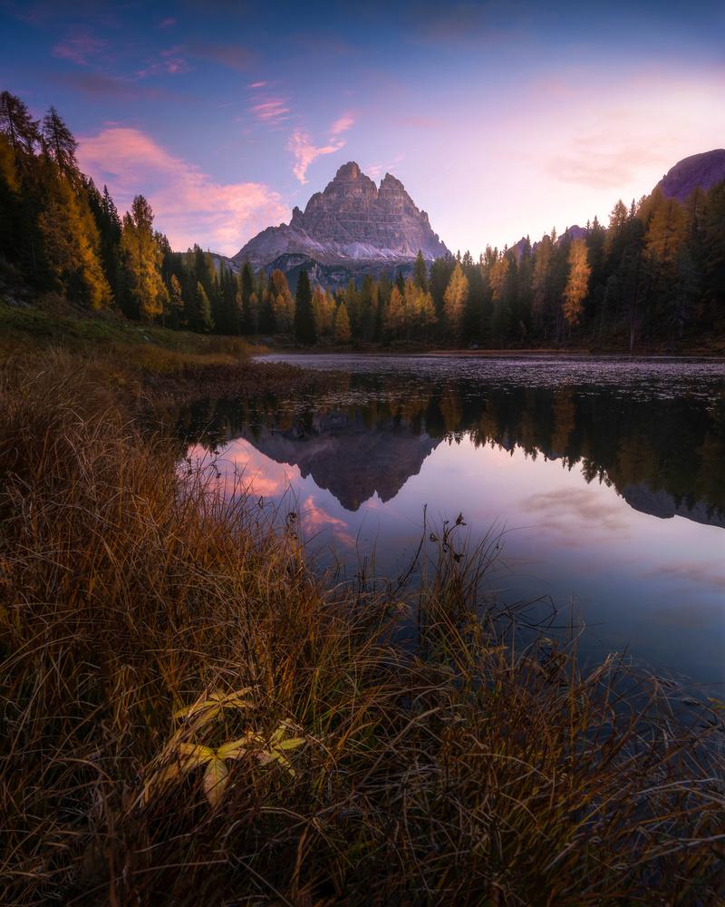 Dolomites Sunrise by Philip Slotte