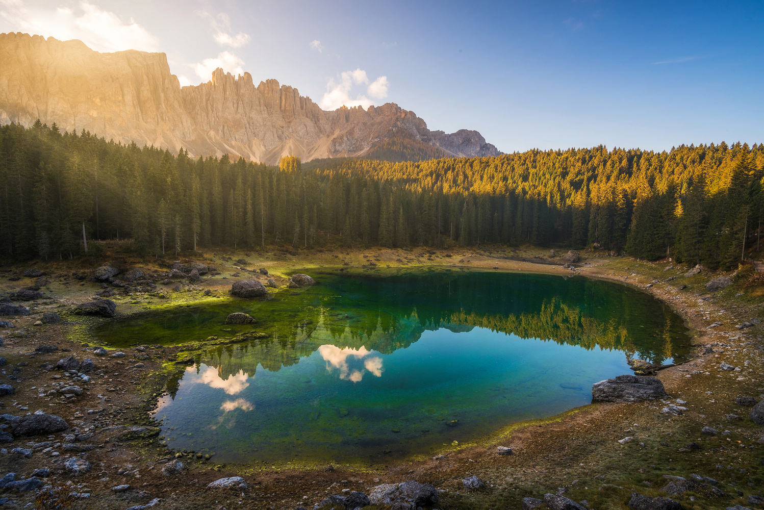 Lago di Carezza by Philip Slotte