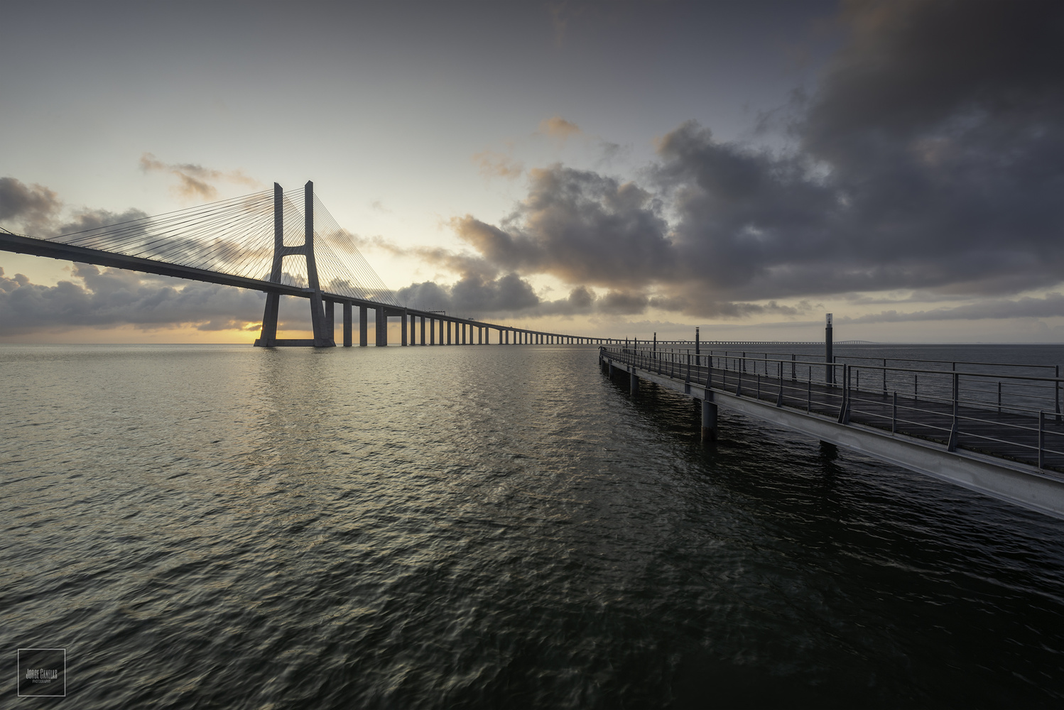 Always Vasco da Gama Bridge by Jorge Canelas