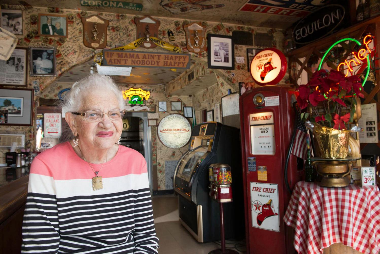 Inez Stempeck, Owner, Casale's Halfway Club by Patrick Cummings