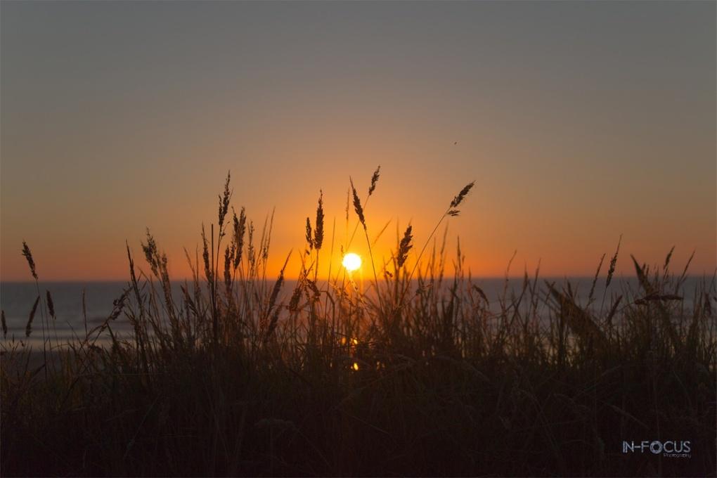 Kariotahi Beach Sunset by Chris Hall