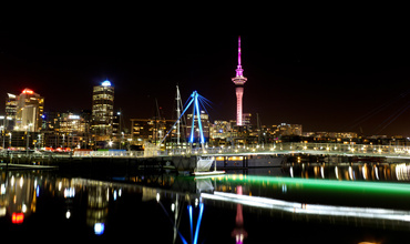 Auckland CBD by Chris Hall