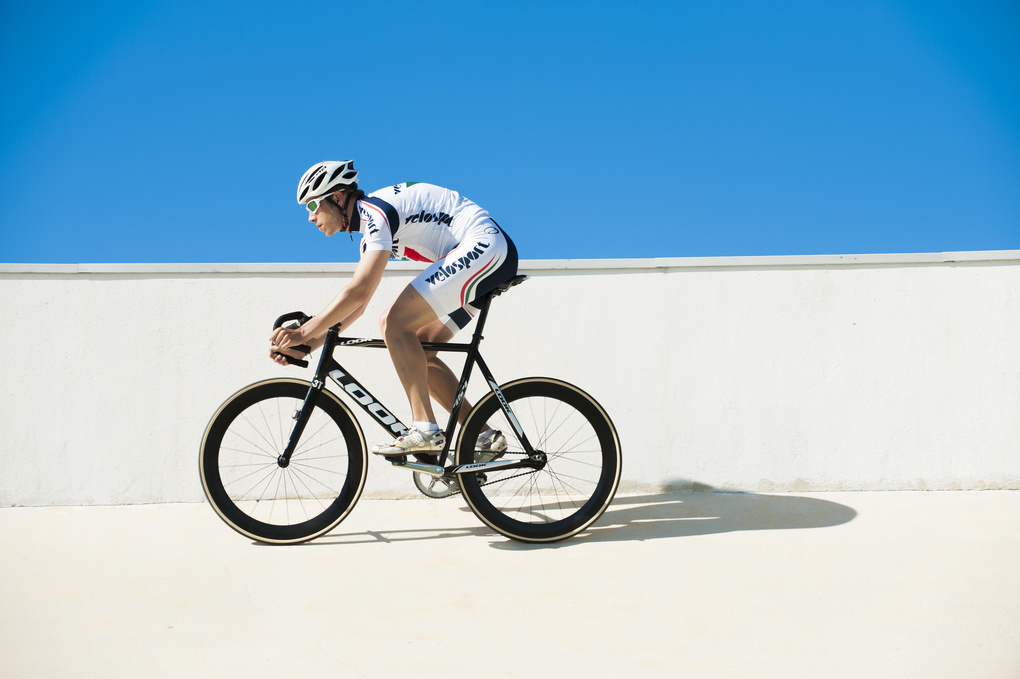 Cyclist by Hannes Kainulainen