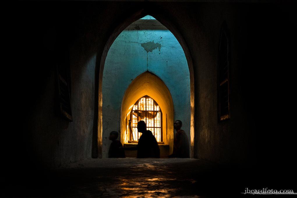 Monks of Ananda by Joshua Beard
