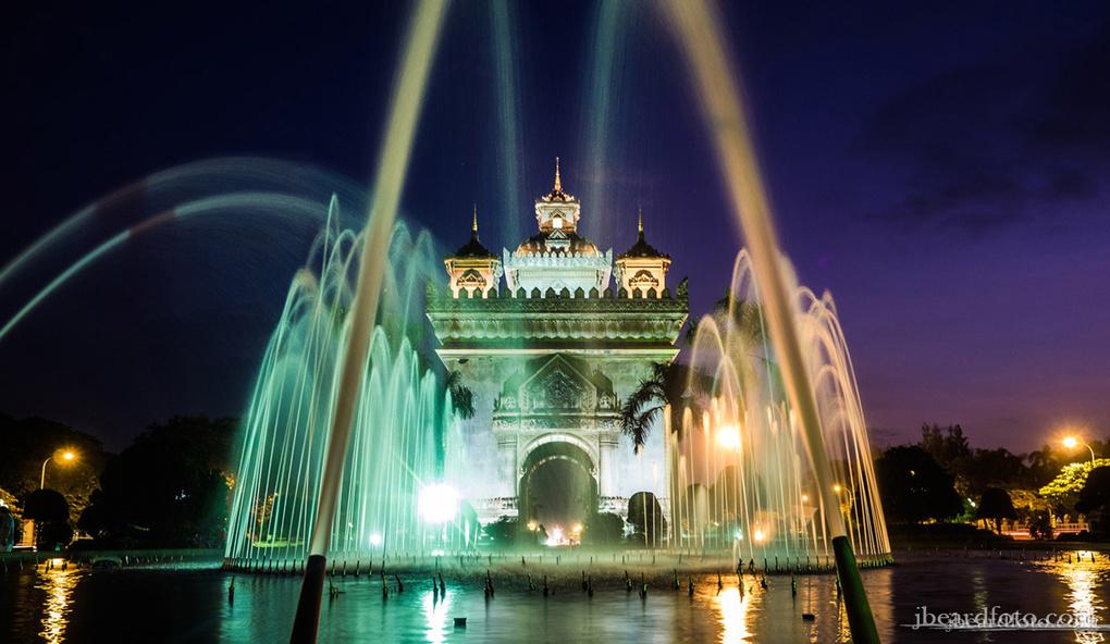 Patuxai: The Asian Arc De Triomphe by Joshua Beard