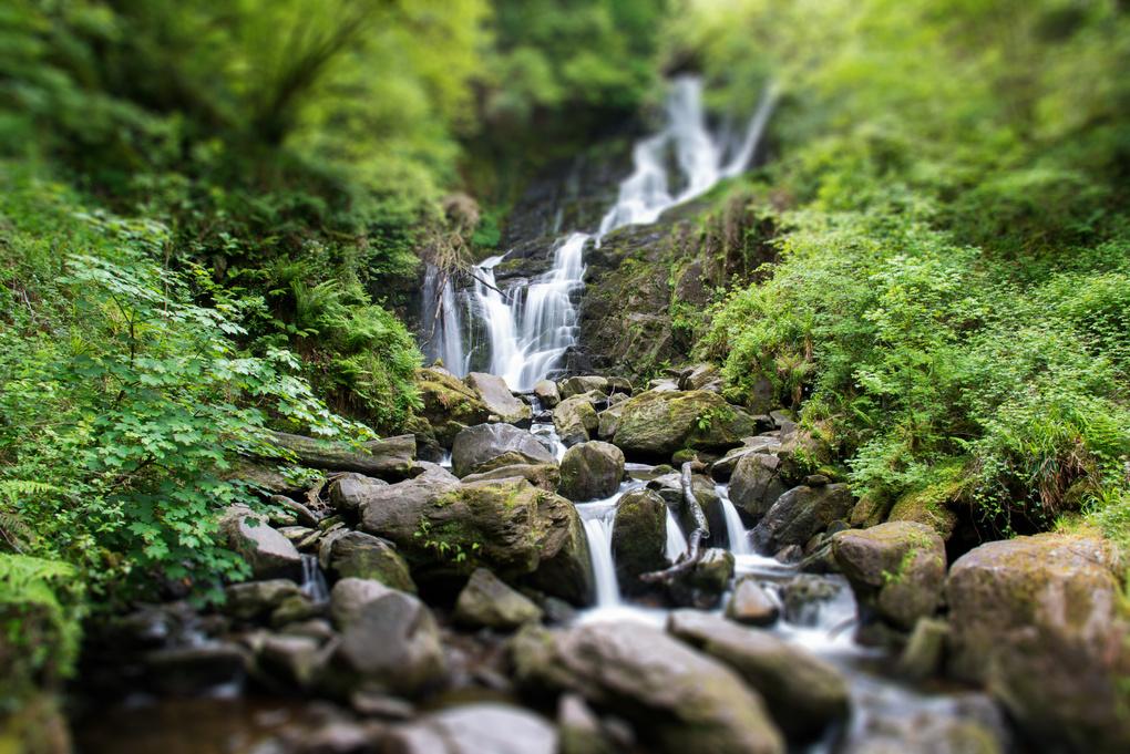 Torc Waterfall by Douglas Leedy