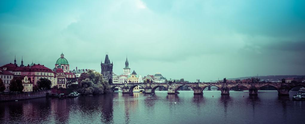 Prague panorama II by Trent Cooper