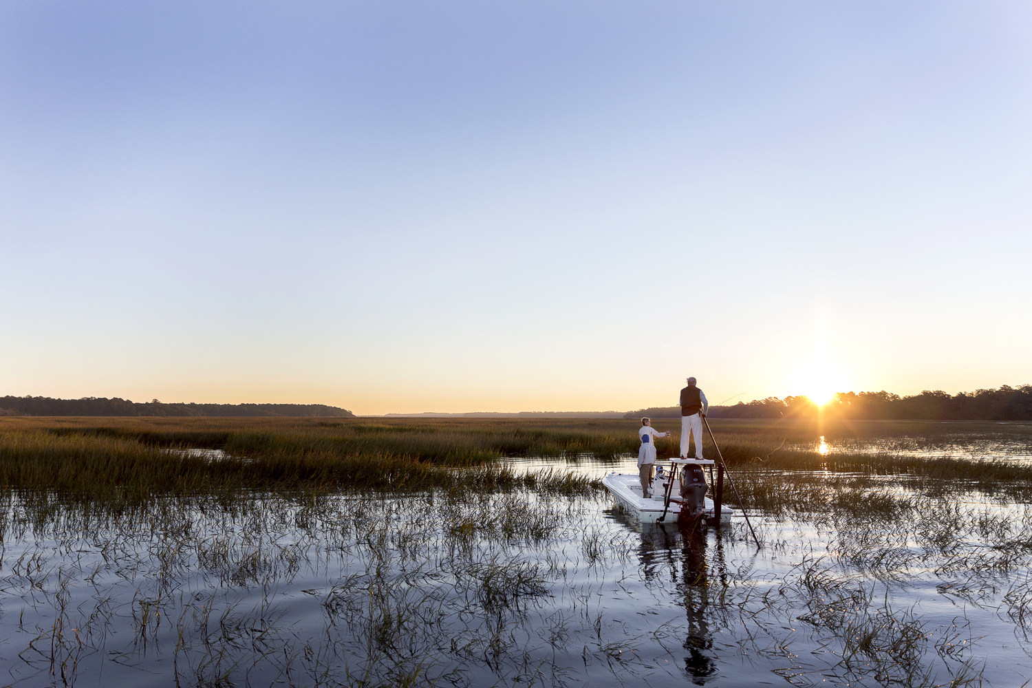 Fly Fishing Beaufort SC by Bobby Altman