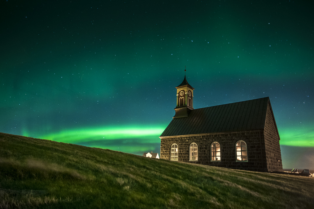 Hvalsneskirkja Church by Gardar Olafsson