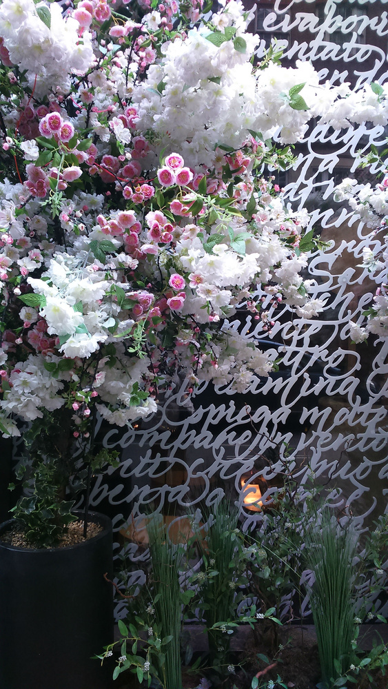 At the Mayfair florist III by Paola De Giovanni
