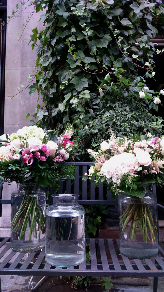 At the Mayfair florist by Paola De Giovanni