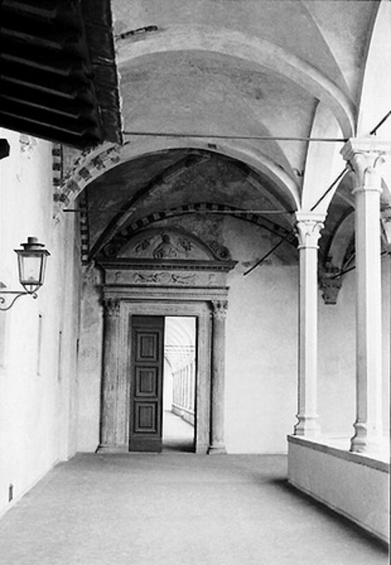 Florentine cloister by Paola De Giovanni