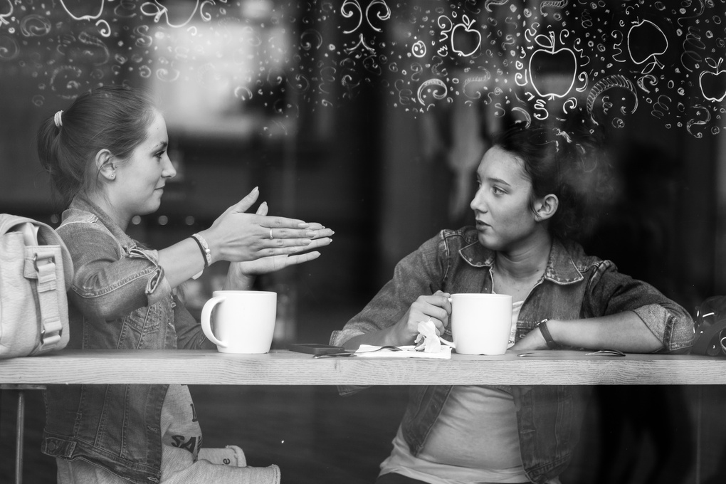 A little chat by Jakub Ostrowski
