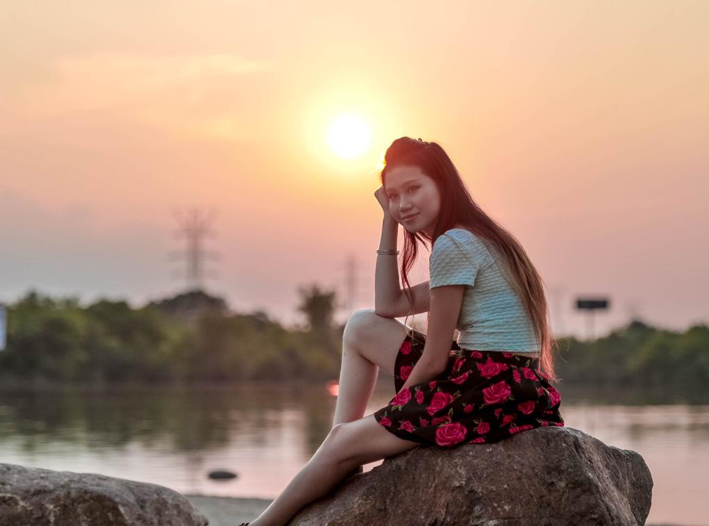 Gradient Sunset by Sagar Solanki