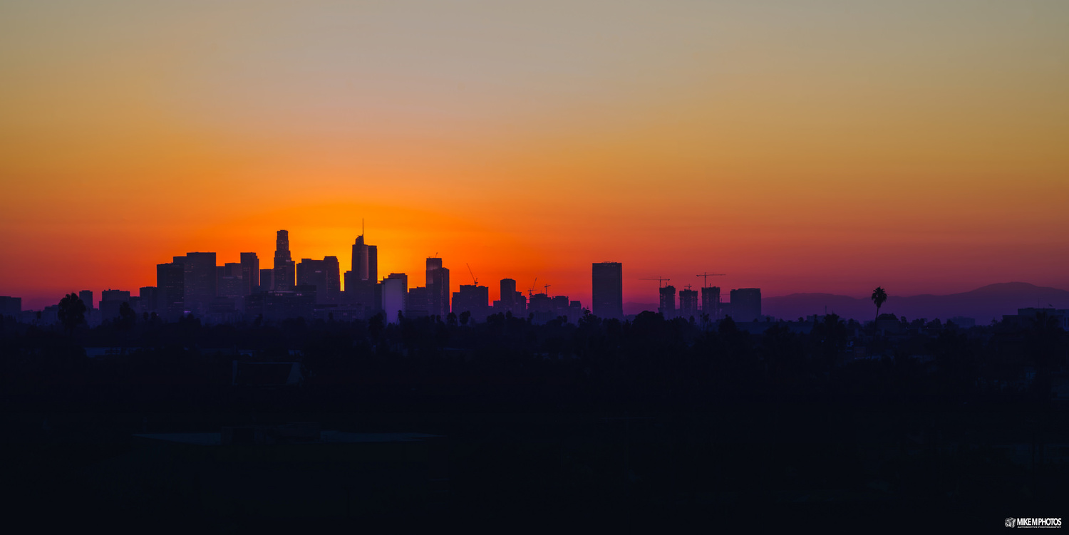 L.A. Sunrise by Mike Moore