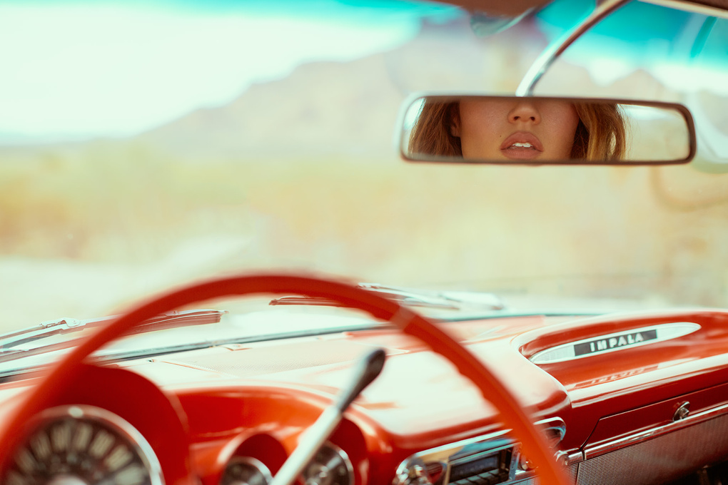 Route 66 - Lips by Derek Heisler