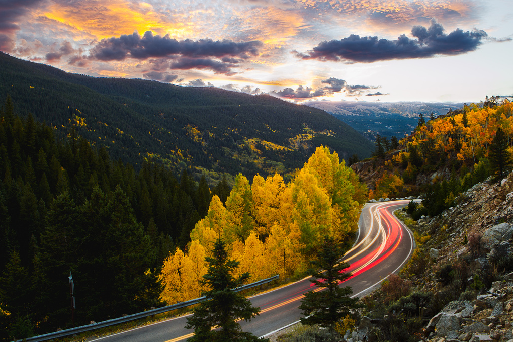 Fall Trough Time by Zachary Luchs