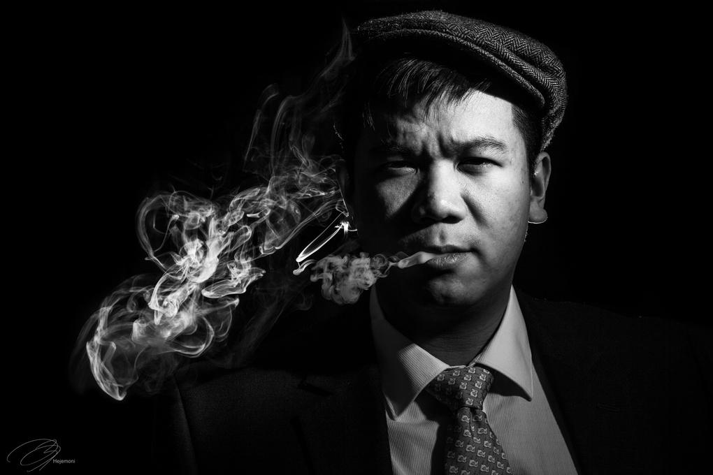 Smoking by Francis Bauzon