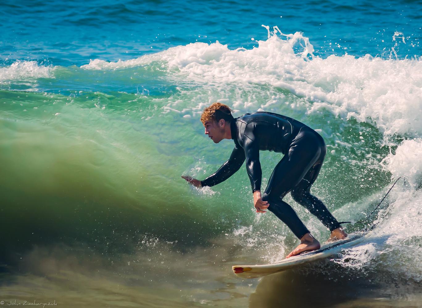 Malibu Surfer by John Zacharyczuk