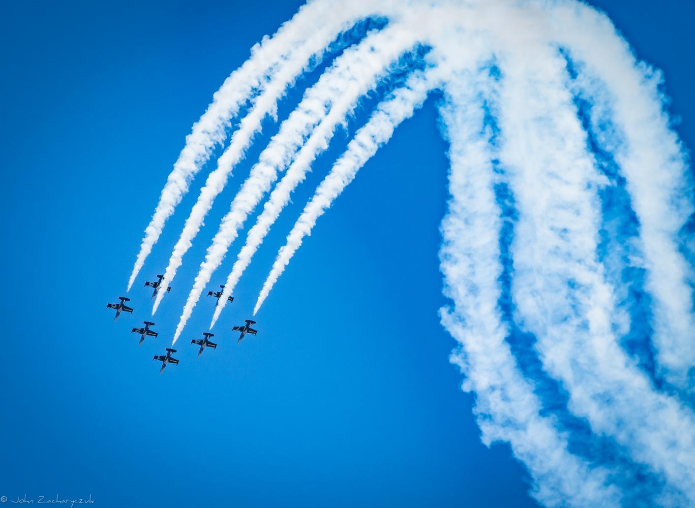 Breitling Jet Team by John Zacharyczuk