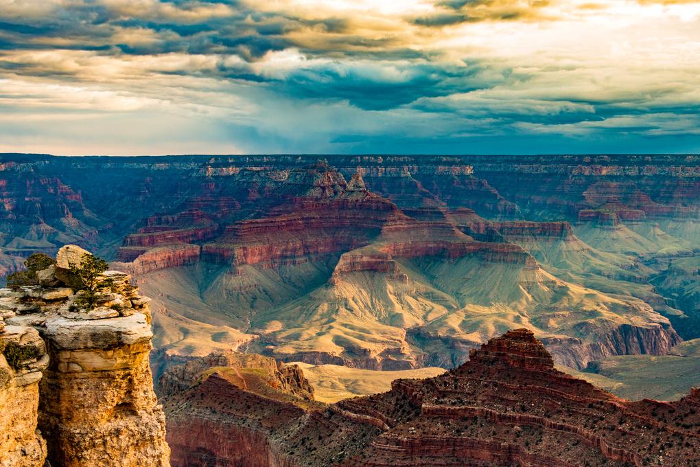 Grand Canyon Sunrise at Mather Point by John Zacharyczuk