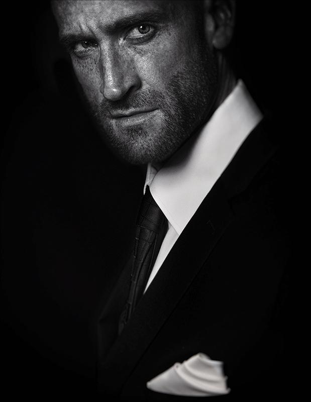 Portrait by Darren Sealey
