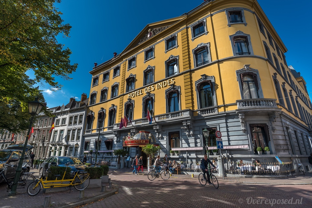 Hotel Des Indes by Russell Pearson