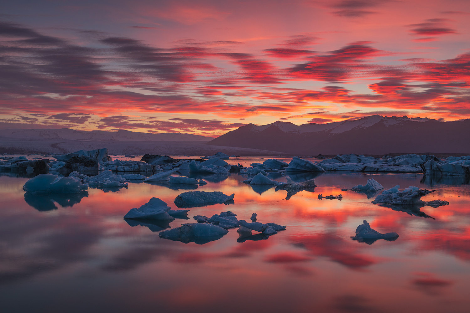 [ ... fire and ice ] by Raymond Hoffmann