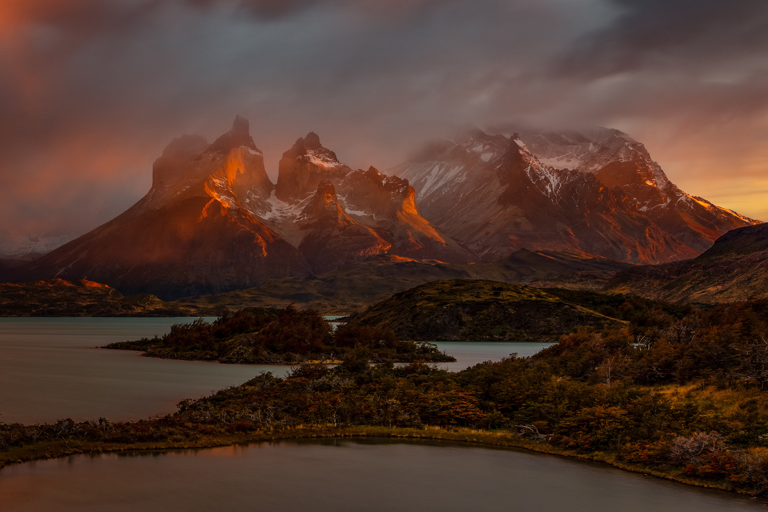 [ … Torres del Paine ] by Raymond Hoffmann