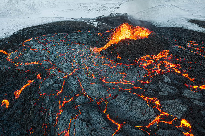 [ ... lava flow ] by Raymond Hoffmann