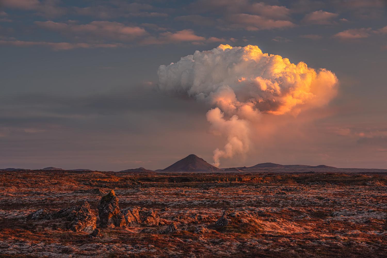 [ ... volcano cloud ] by Raymond Hoffmann