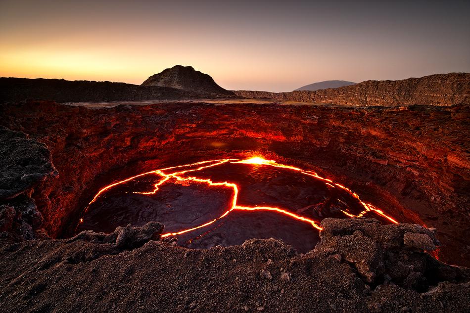 [ ... crater lake ] by Raymond Hoffmann