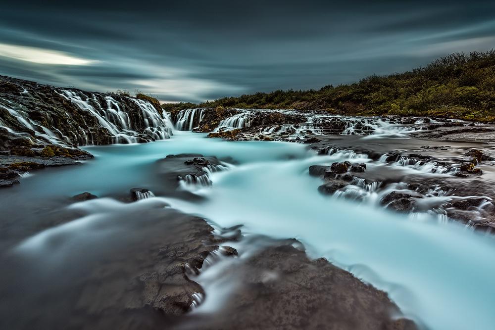 [ … cool water ] by Raymond Hoffmann