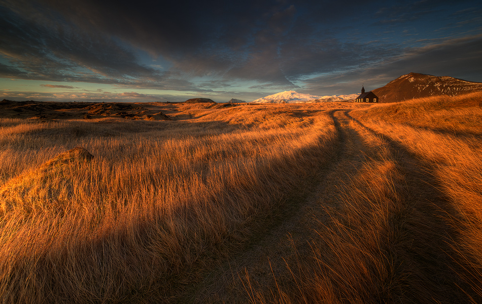 [ ... the long winding road ] by Raymond Hoffmann