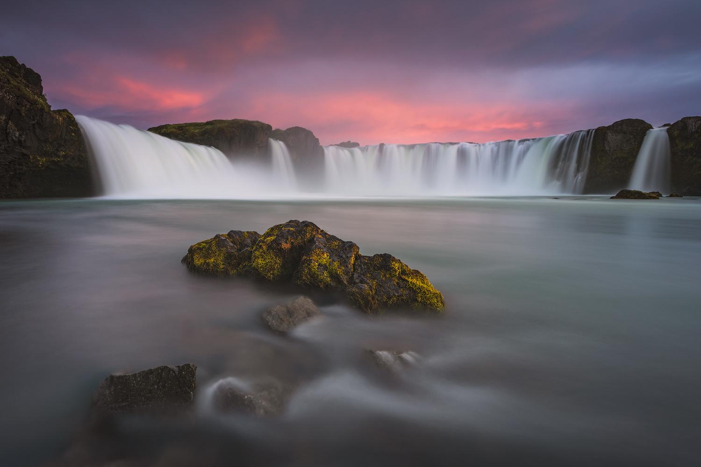 Goðafoss by Raymond Hoffmann