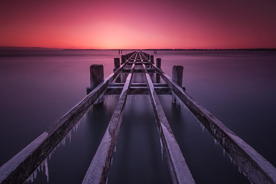 [ … first light ] by Raymond Hoffmann