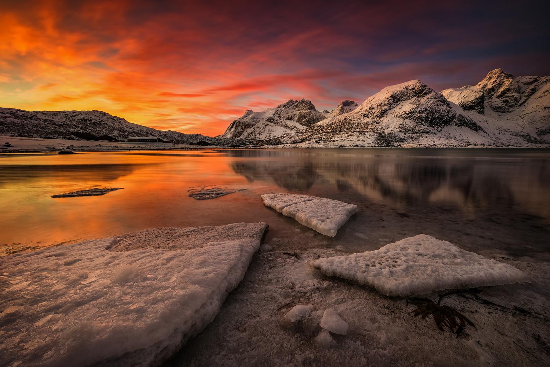 [ … arctic sunrise ] by Raymond Hoffmann