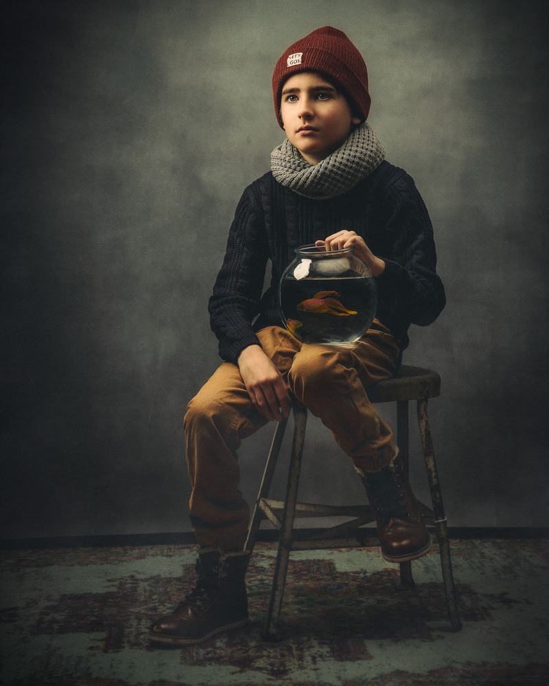 Portrait of my son by Robert Wagner