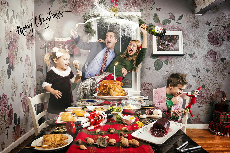 Christmas Dinner by Robert Wagner