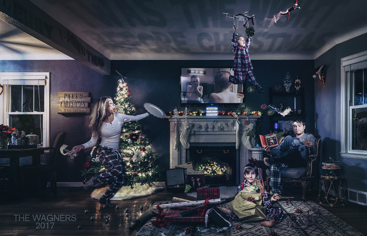 Twas The Night Before Christmas by Robert Wagner