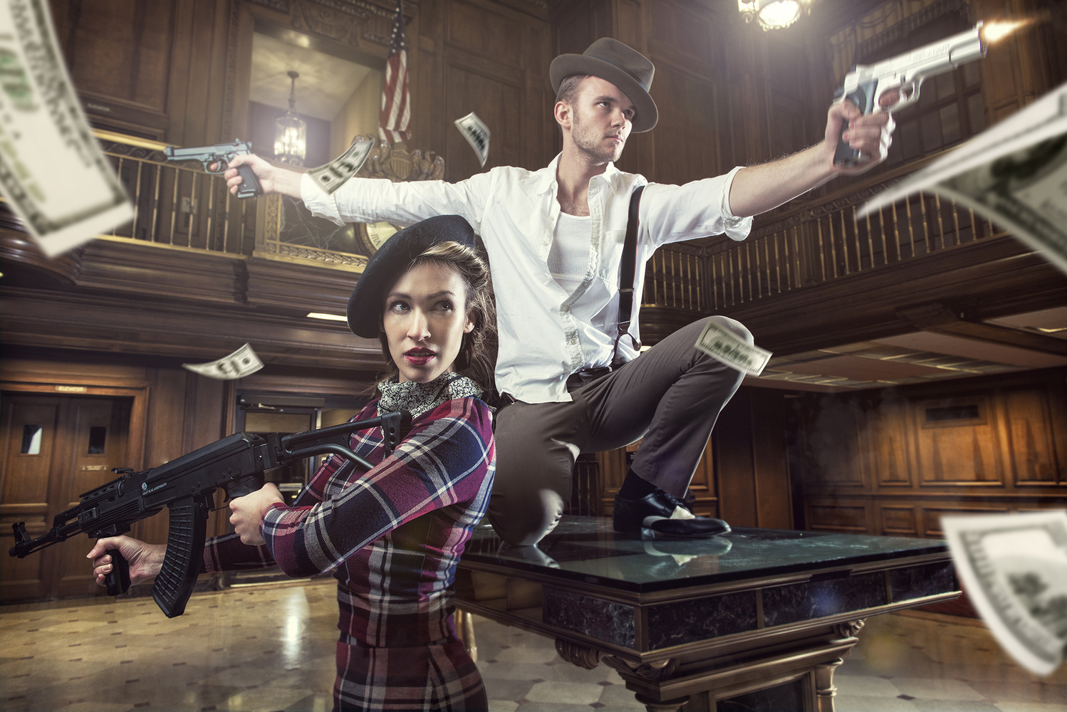 bonnie and clyde by Robert Wagner