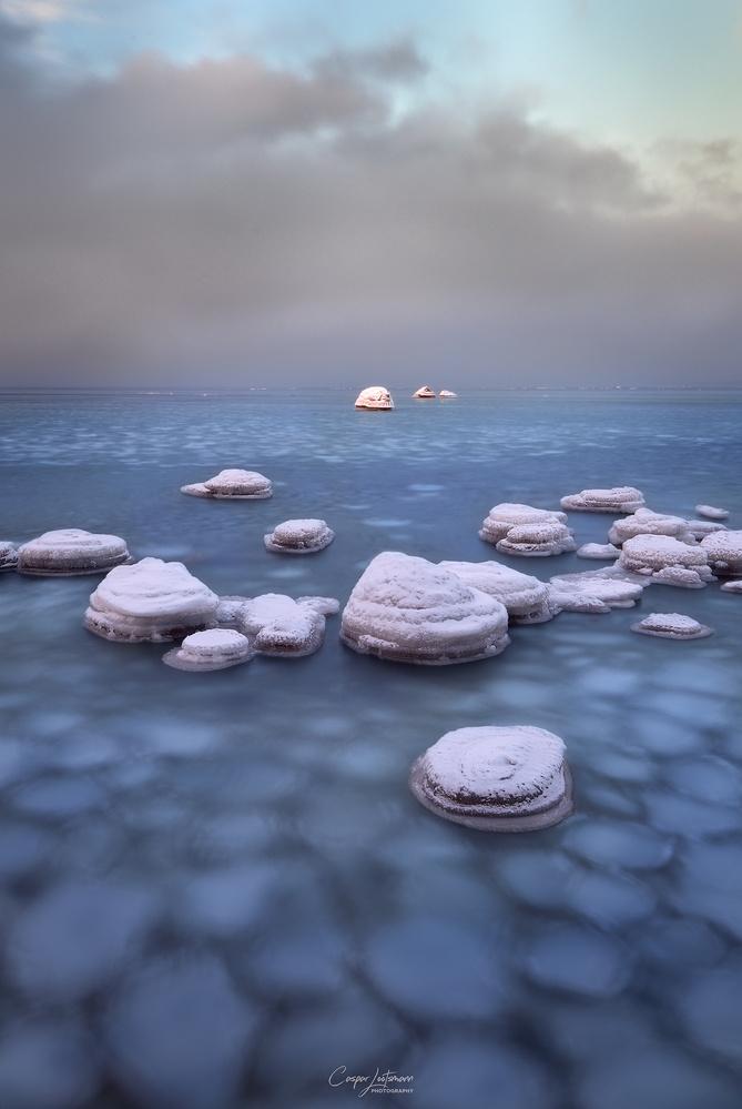Blue fields by Caspar Lootsmann