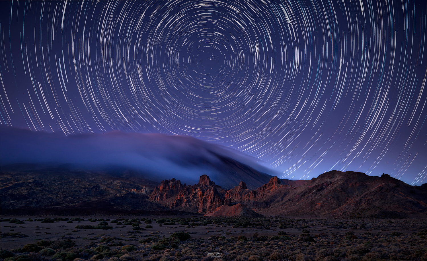 Veil of Teide by Caspar Lootsmann