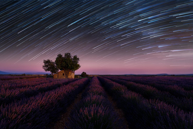 Stars over Provence by Vadim Sherbakov