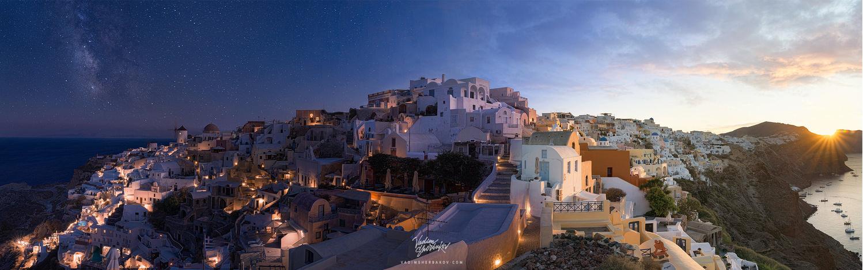 Day to night panorama by Vadim Sherbakov