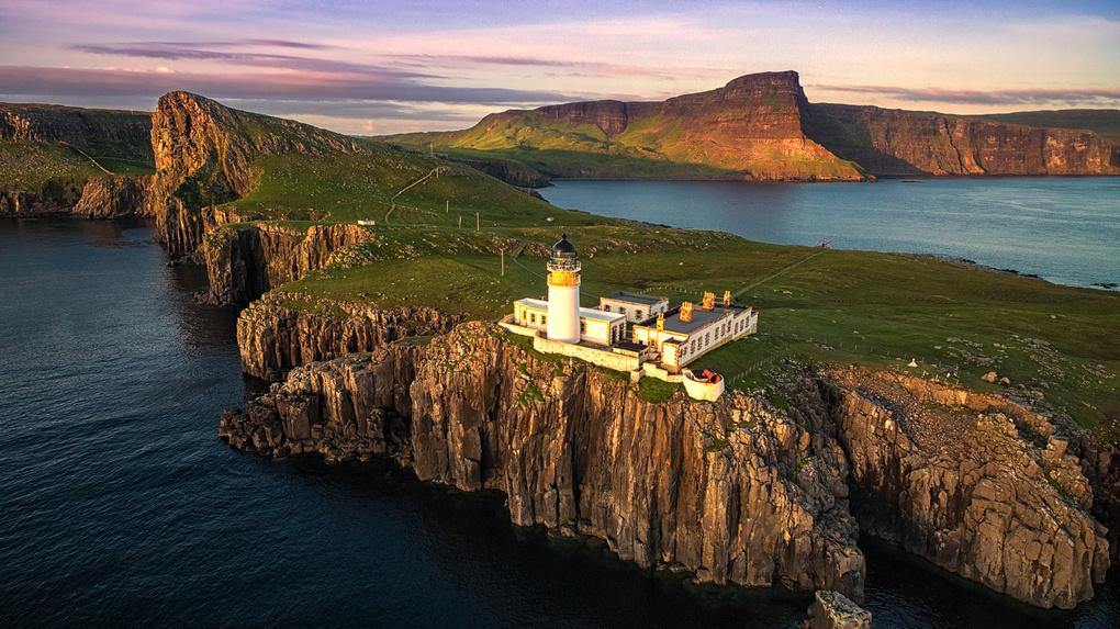 Isle of Skye lighthouse by Vadim Sherbakov