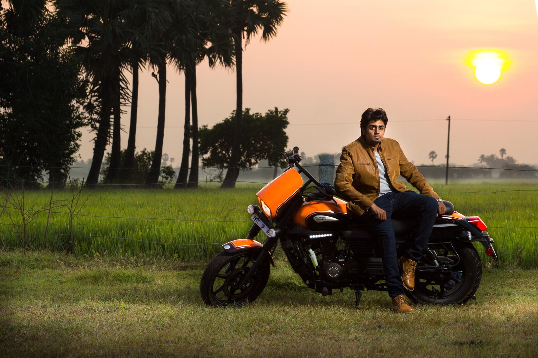 Bike Portrait by Prashanth Gurunathan